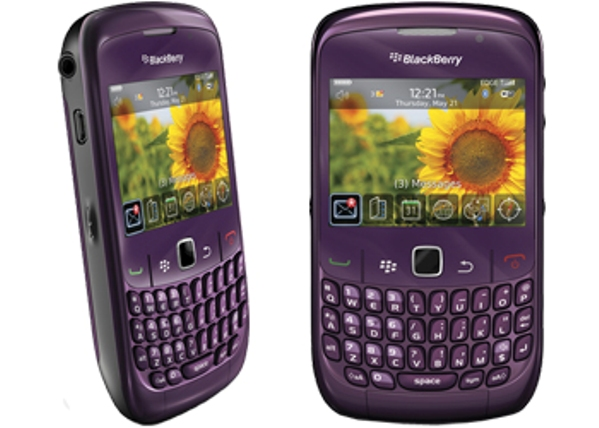 BlackBerry Curve 8520 purple